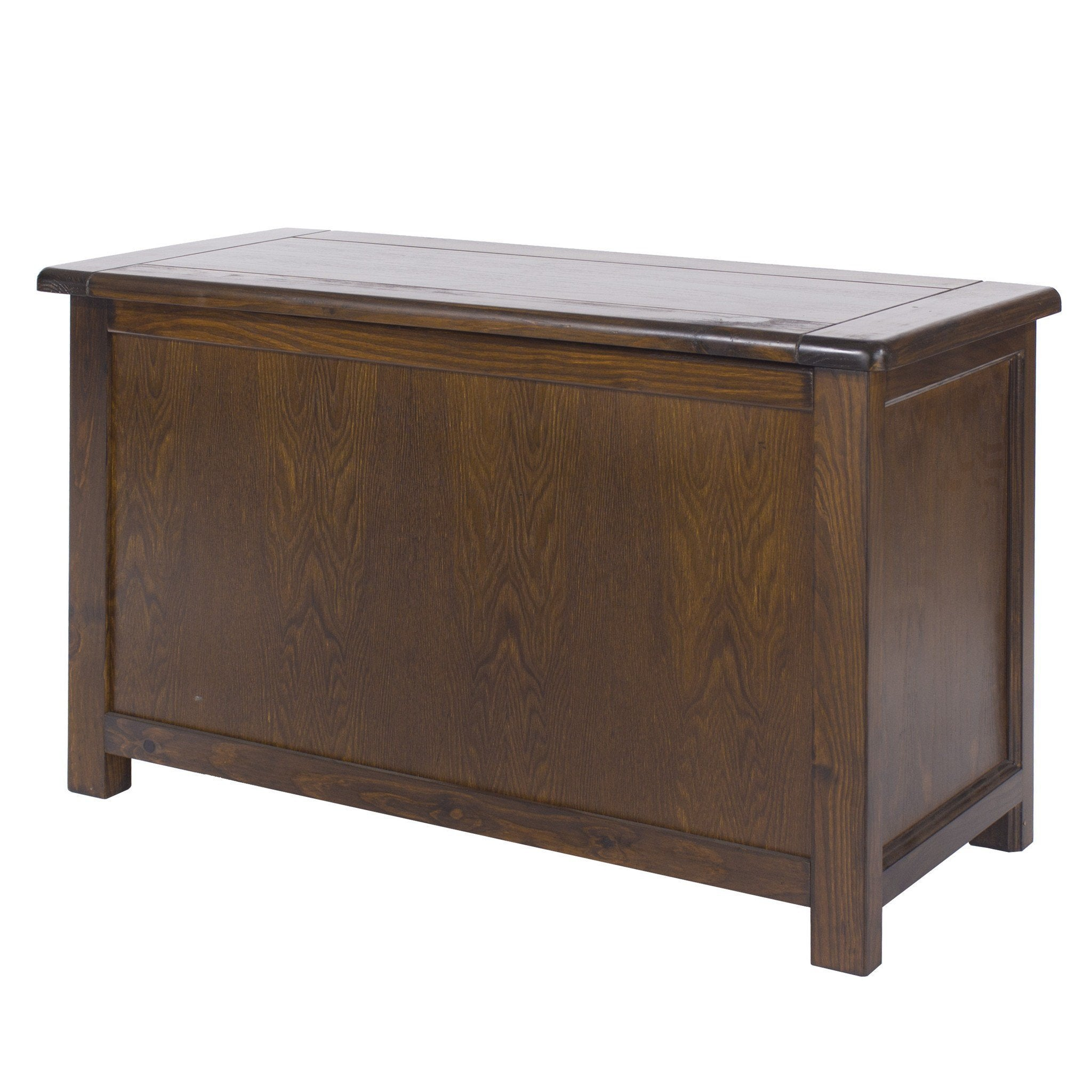 Nepal Dark Wood Blanket Box Ottoman-dark wood blanket box-core products-GoFurn Furniture Store Kent