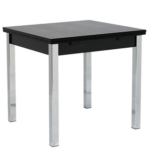 Debecke Extending Dining Table in Black Ash-black extending dining table-furniture to go-GoFurn Furniture Store Kent