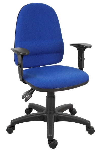 Ergo Twin Operators Chair with Arms-ergonomic operators office chair with arms-teknik-GoFurn Furniture Store Kent