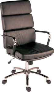 Florence Black Executive Office Chair-GoFurn-GoFurn Furniture Store Kent