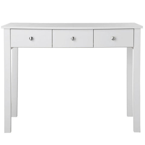 Florence White Dressing Table with 3 Drawers-White Dressing Table-furniture to go-GoFurn Furniture Store Kent