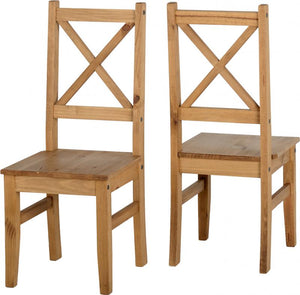 salvador dining chairs mexican distressed pine