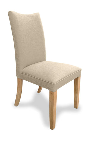 Jessica Natural Fabric Dining Chair-fabric dining chairs-shankar-GoFurn Furniture Store Kent
