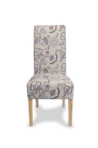Krista Deco Amethyst Dining Chair-fabric dining chairs-shankar-GoFurn Furniture Store Kent