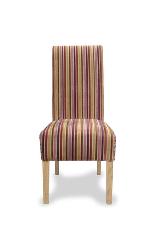Krista Jupiter Shiraz Fabric Dining Chair-fabric dining chairs-shankar-GoFurn Furniture Store Kent