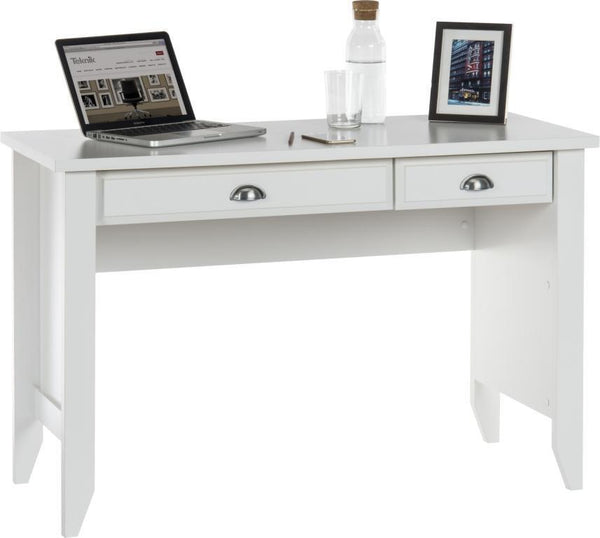 Laptop Desk in Soft White-computer laptop desks white-teknik-GoFurn Furniture Store Kent