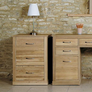 Mobel Light Oak Printer Cabinet-home office storage-Baumhaus-GoFurn Furniture Store Kent
