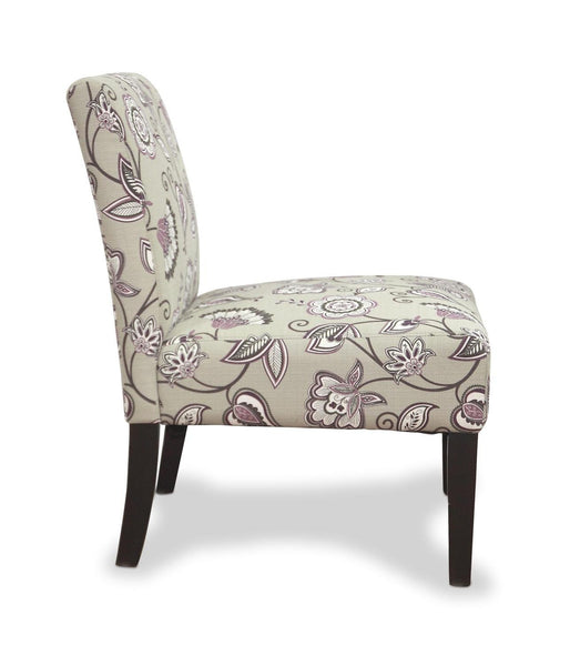Morris Deco Amethyst Accent Chair-Accent ArmChairs-shankar-GoFurn Furniture Store Kent