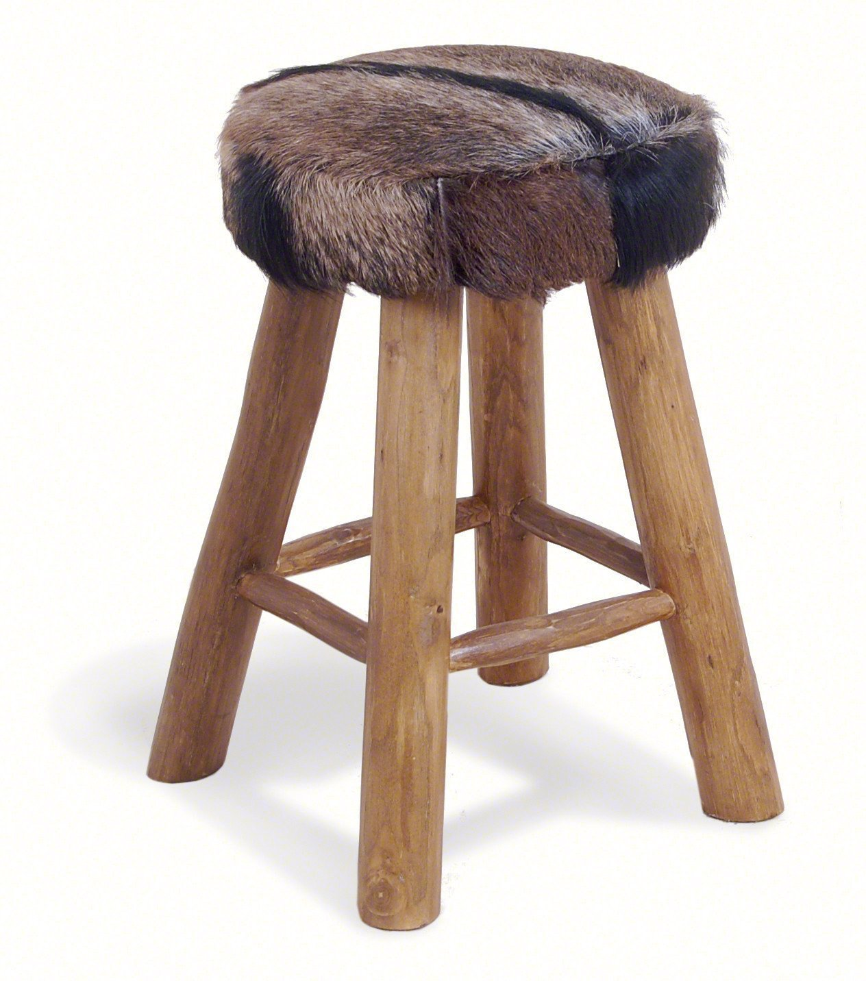 Safari Medium Height Stool-kitchen breakfast medium low bar stools wooden-bluebone-GoFurn Furniture Store Kent