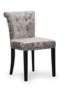Sandringham Baroque Mink Accent Dining Chair-Accent Chair-shankar-GoFurn Furniture Store Kent
