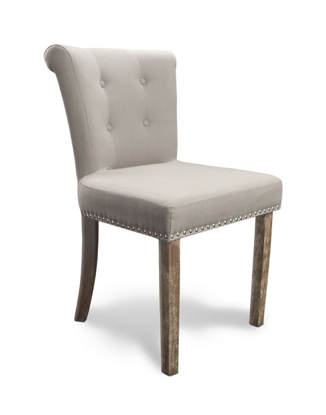 Sandringham Script Chair Whitewash Legs Low Back-Accent Chair contemporary-shankar-GoFurn Furniture Store Kent