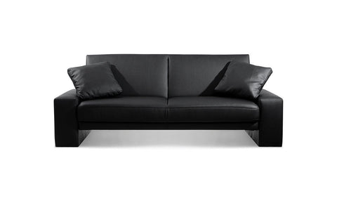 Supra Sofa bed in Black by Julian Bowen