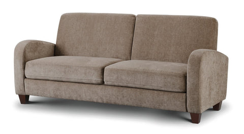 Vivo 3 Three Seater Sofa Mink Chenille Sofa by Julian Bowen