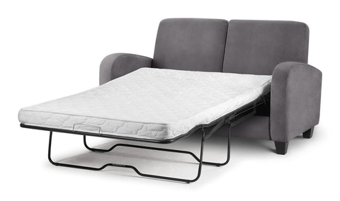 vivo grey sofabed by julian bowen