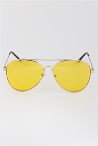 Yellow Shooters Sunglasses