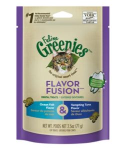 Feline Greenies Fusion OceanFish/Tuna Dental Treat