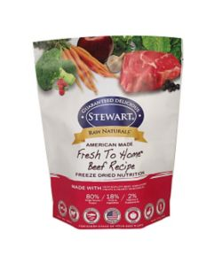 Stewart Raw Naturals Freeze Dried Food 12 oz Beef