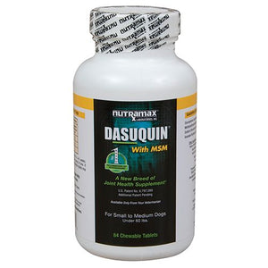 Dasuquin MSM Chewable Tablets Small/Med Dogs 84ct
