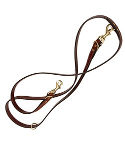 Mendota Leather Jaeger Dog Lead 8ft x 3/4in