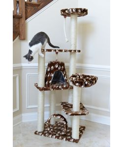 Armarkat Classic Cat Tree Model A6601 66in Paw