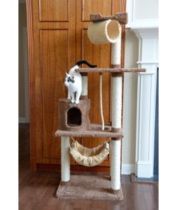 Armarkat Premium Cat Tree Model X7001 70in Tan