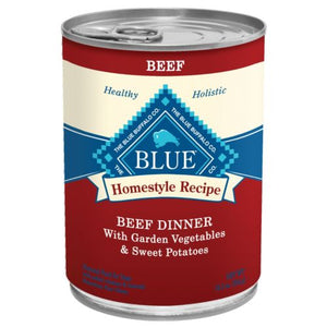 Blue Buffalo Homestyle Can Dog Food 12pk Beef