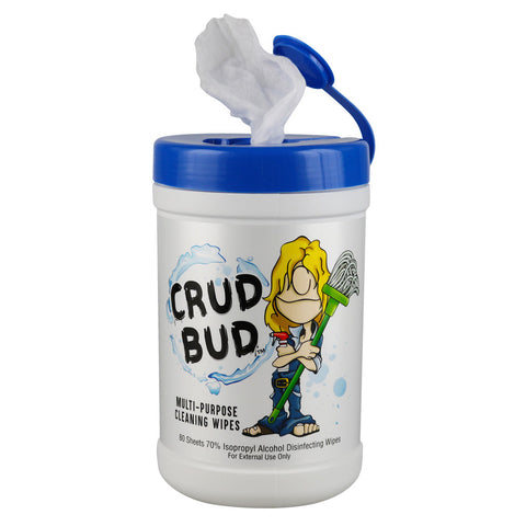 Crud Bud Multipurpose Cleaning Wipes