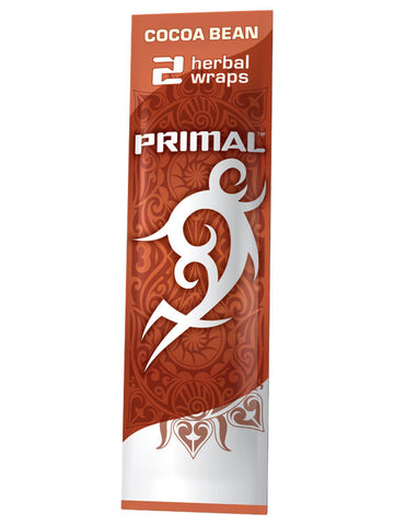 Primal Cocoa Bean Herbal Wrap/Cone