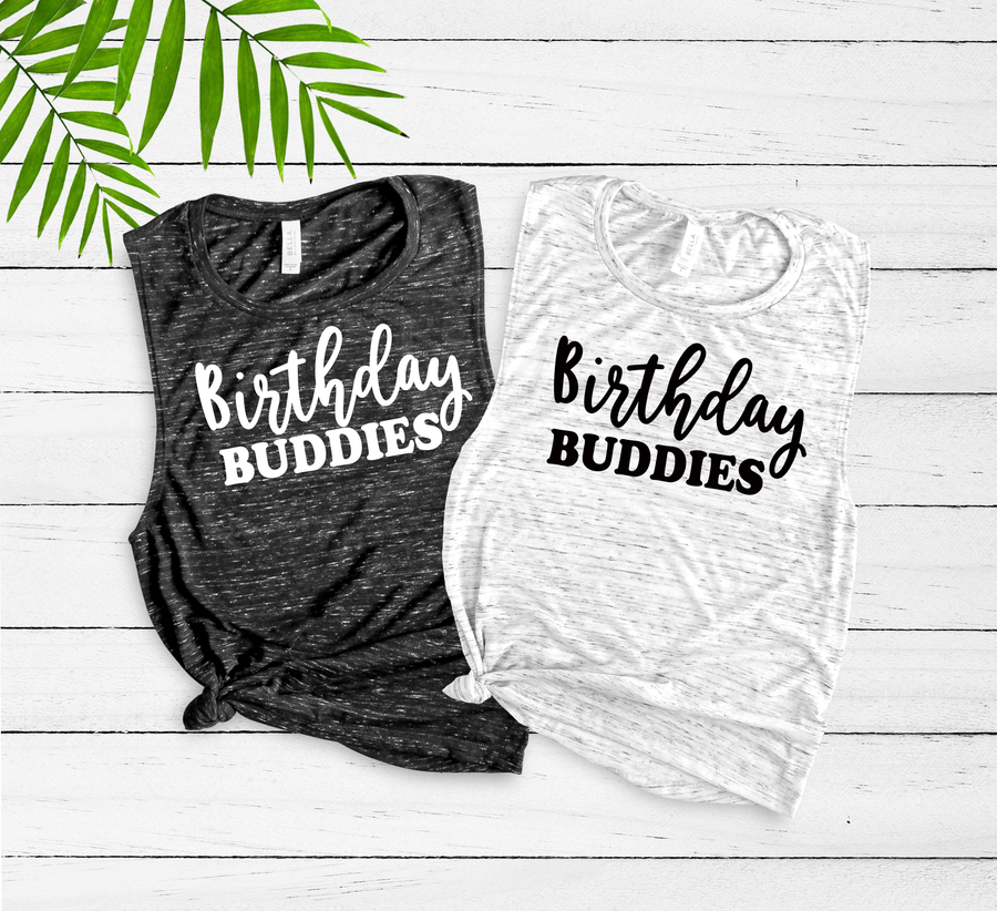 Birthday Buddies Tanks