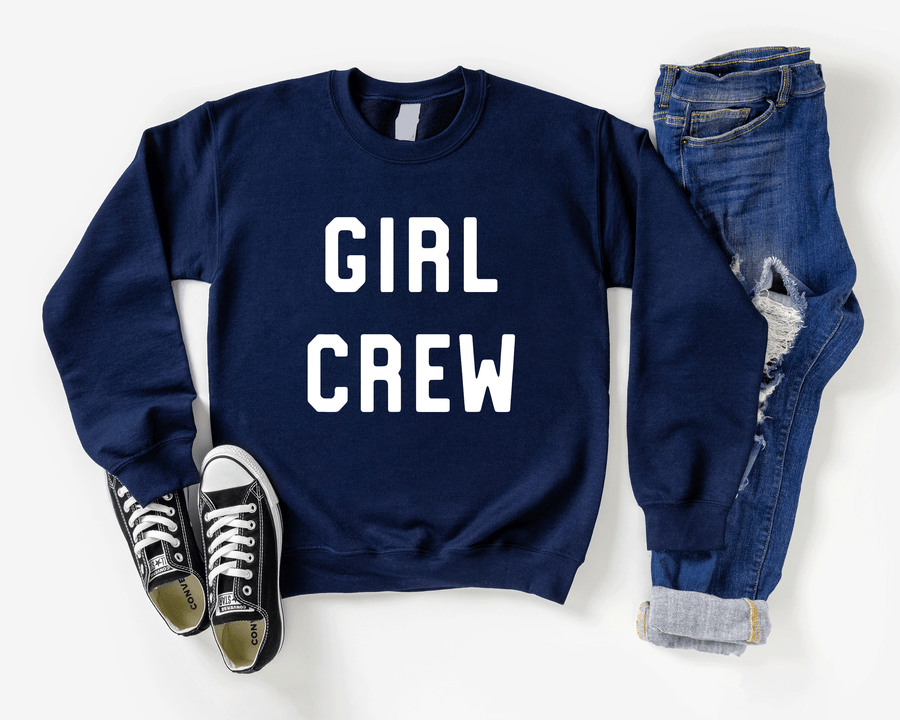 Girl Crew Sweatshirt