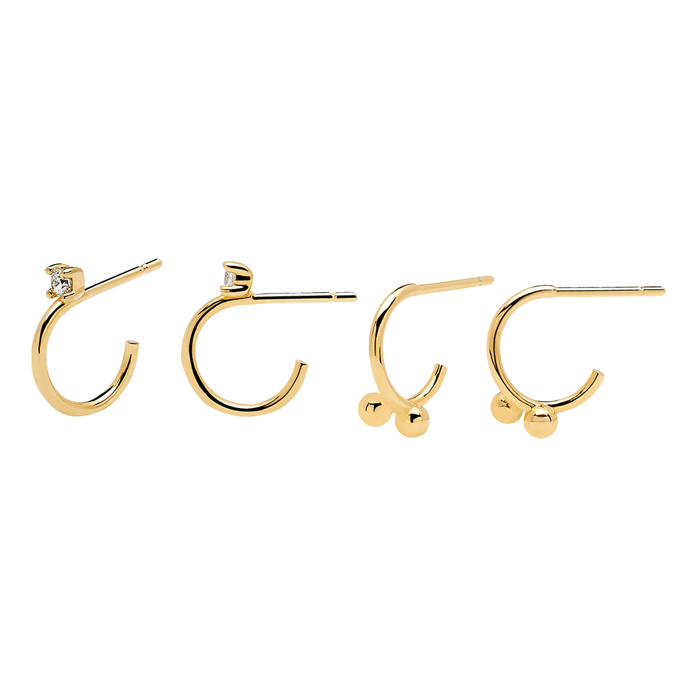 Aura Gold Earrings Pack