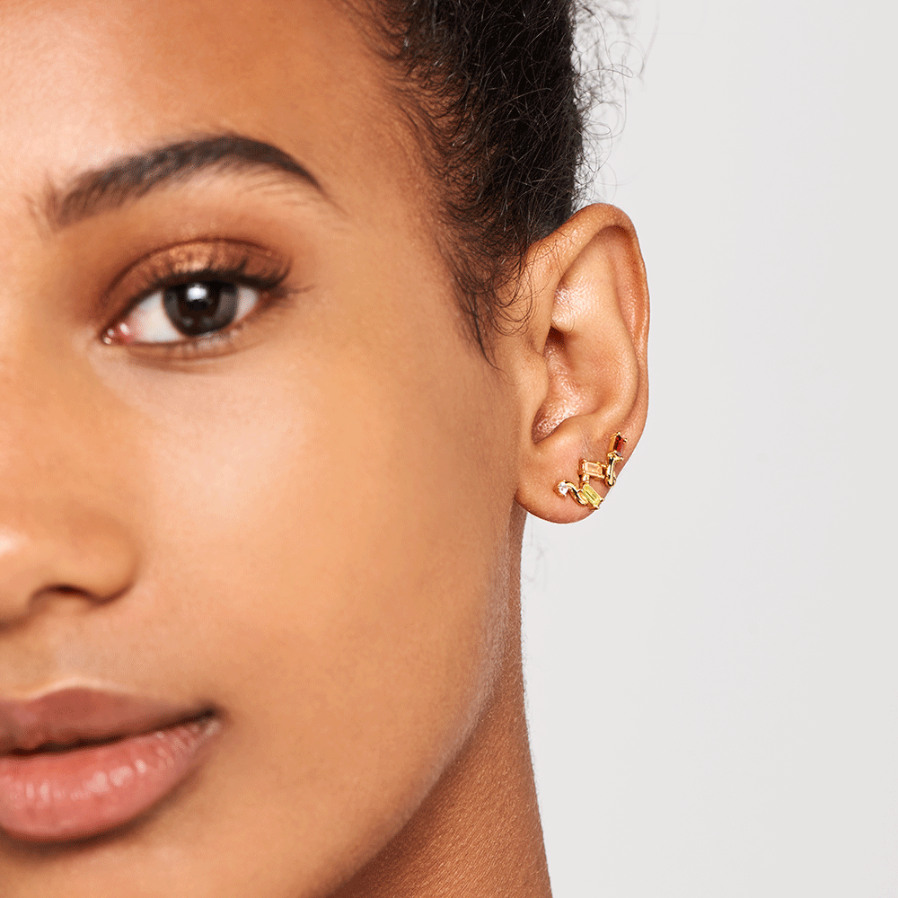 Zaza Gold Earrings