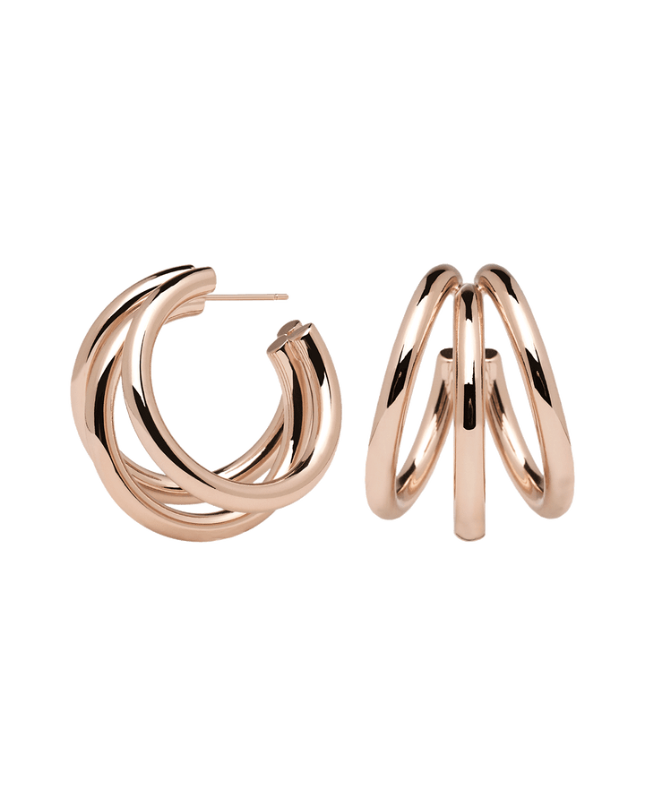 Earrings - 18K Rose Gold plating