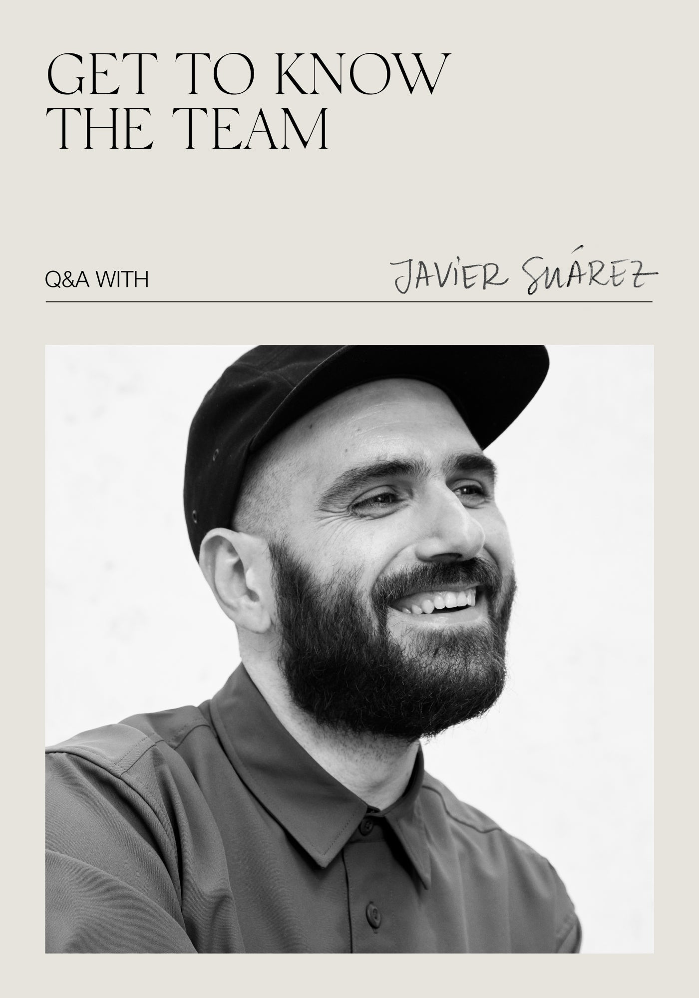 Get To Know the team! Q&A with Javi
