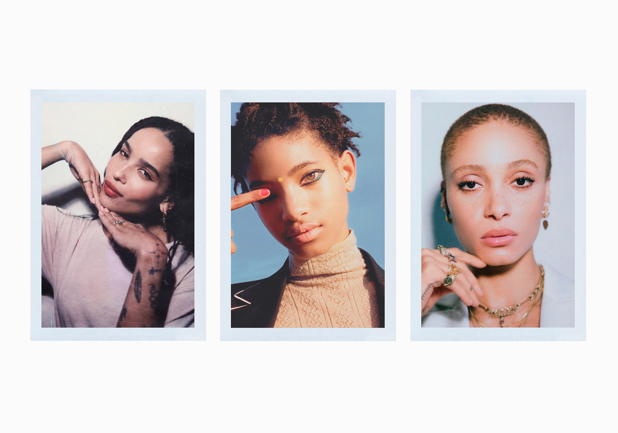 Reasons Why We Love Zoë Kravitz, Willow Smith and Adwoa Aboah