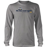 Men's Long Sleeve T-Shirt-On the road again (Light Colors) - Sports Parent Gear