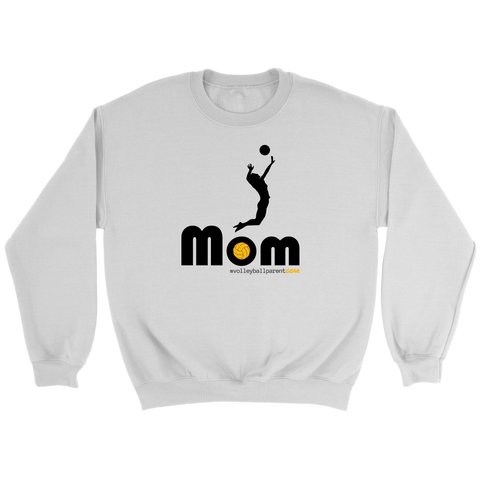 Crewneck Sweatshirt-Hitter Mom - Sports Parent Gear