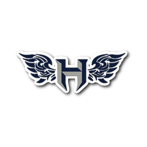 Pflugerville Hawks Sticker - Sports Parent Gear