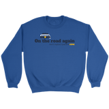 Crewneck Sweatshirt Unisex-On the road again (Light Colors) - Sports Parent Gear