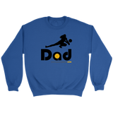 Crewneck Sweatshirt-Defense/Libero Dad - Sports Parent Gear