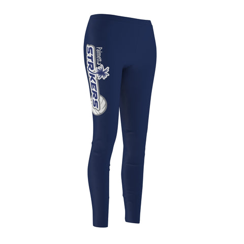 Women's Casual Leggings-Palmetto Strikers - Sports Parent Gear