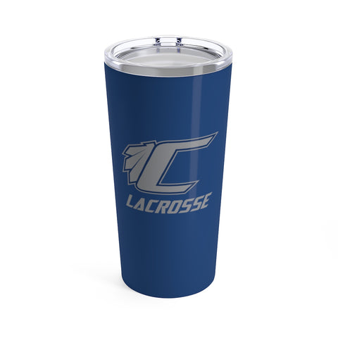 Cusabo Nation Lacrosse - Stainless Steel Tumbler 20oz (Blue) - Sports Parent Gear