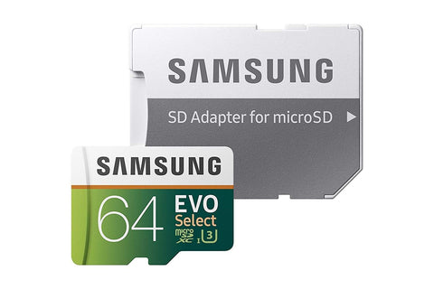 Samsung 64GB (U3) MicroSDXC Memory Card-Adapter (MB-ME64GA/AM) - Sports Parent Gear