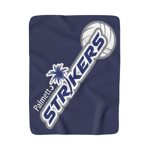 Sherpa Fleece Blanket-Palmetto Strikers - Sports Parent Gear