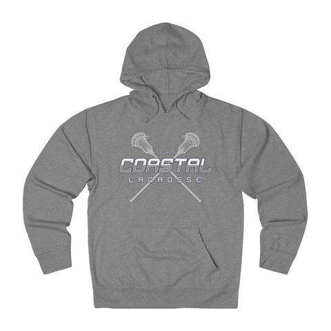 Team Coastal LAX - Sticks Hoodie - Sports Parent Gear
