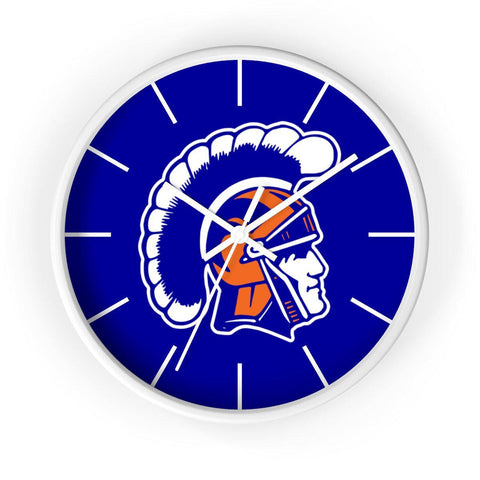 James Island Trojans Helmet Wall clock - Sports Parent Gear