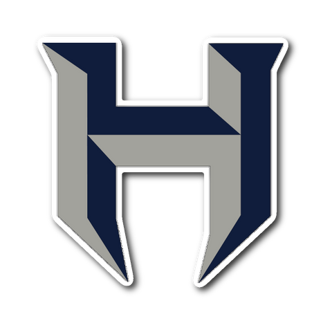 "Pflugerville Hawks ""H"" Sticker - Sports Parent Gear"