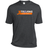 James Island Trojans FOOTBALL-Men's Heather Performance T-Shirt - Sports Parent Gear