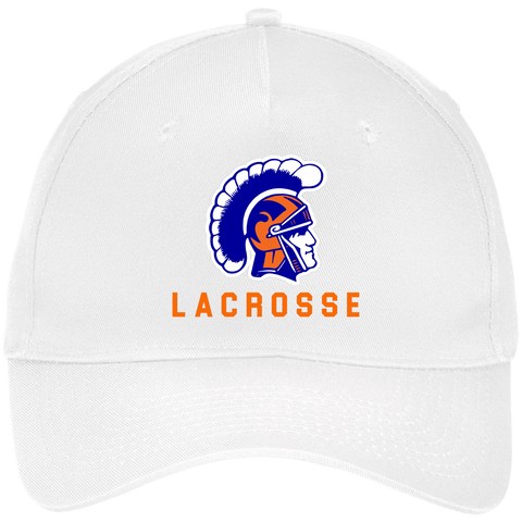 James Island Trojans Lacrosse Five Panel Twill Cap - Sports Parent Gear