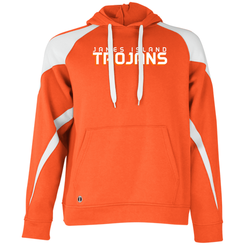 James Island Trojans-Colorblock Hoodie - Sports Parent Gear